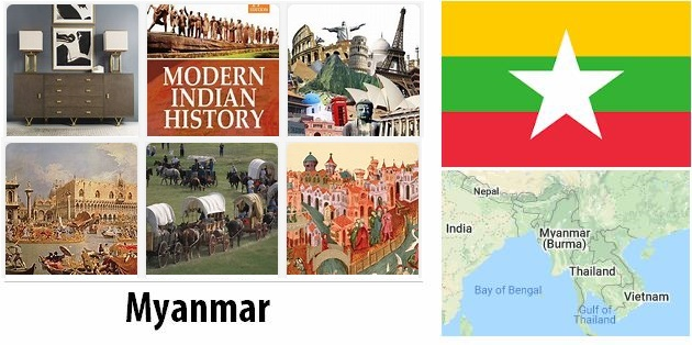 Contemporary History of Burma