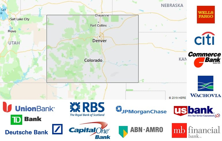 List of All Banks in Colorado