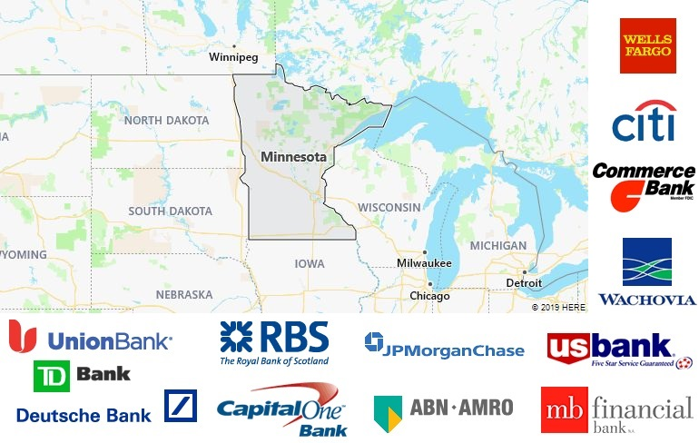 List of All Banks in Minnesota