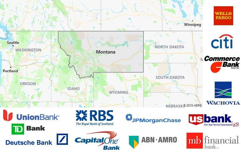 List of All Banks in Montana