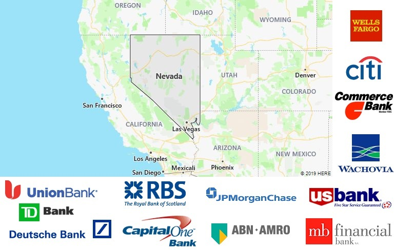 List of All Banks in Nevada