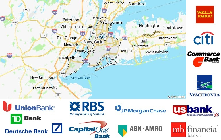 List of All Banks in New York