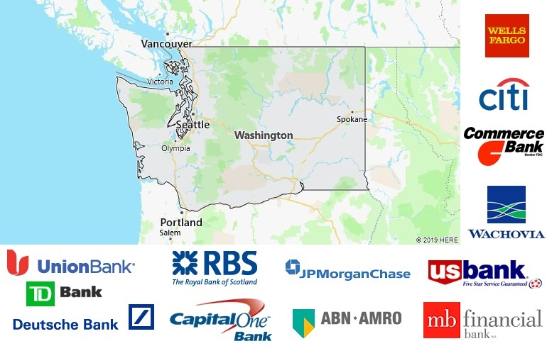 List of All Banks in Washington