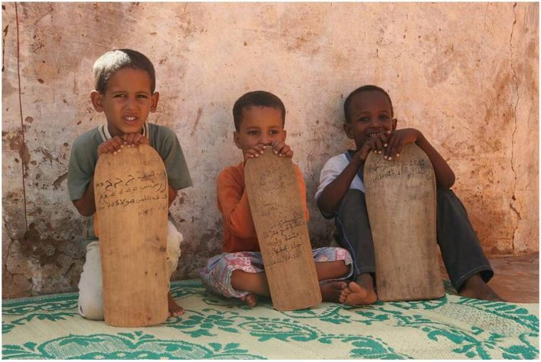 Koran students in Mauritania