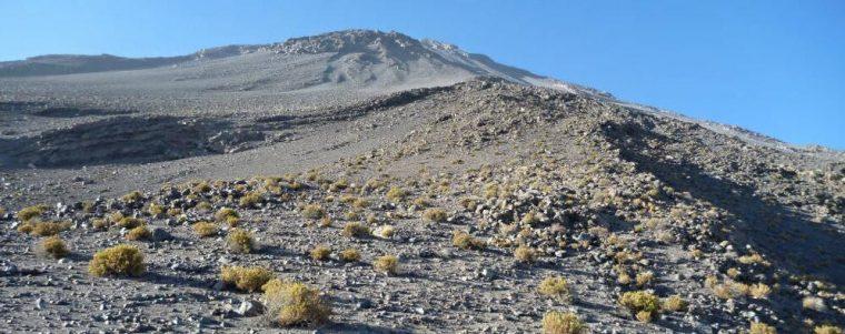 Mountain climbing at El Misti Peru