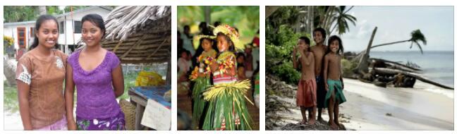 Kiribati Children