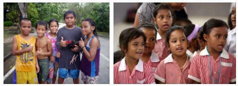 Nauru Children