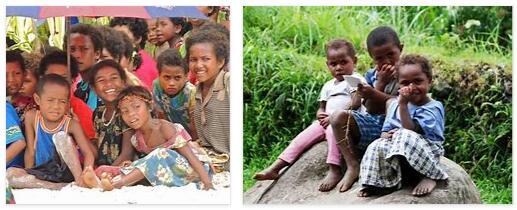 Papua New Guinea Children