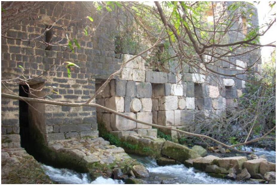 Syria Roman mill on the Orontes