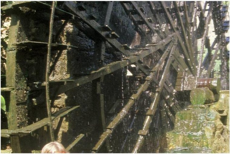 Water wheel in Hama Syria