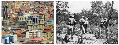Bolivia History Timeline