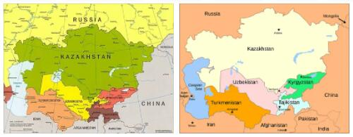 Russia and Central Asia 1