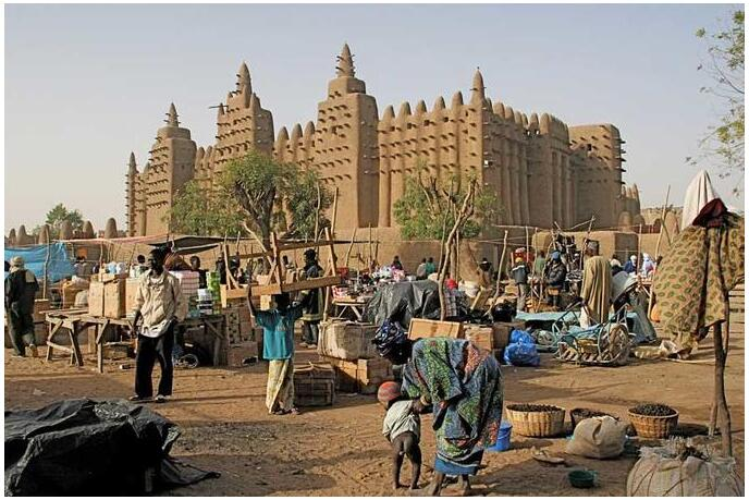 The Great Mosque in Djenne, Mali